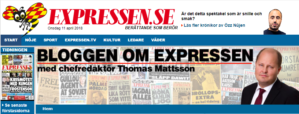 Ulf Nilsons Dispatch-krönika startade Twitterdrev