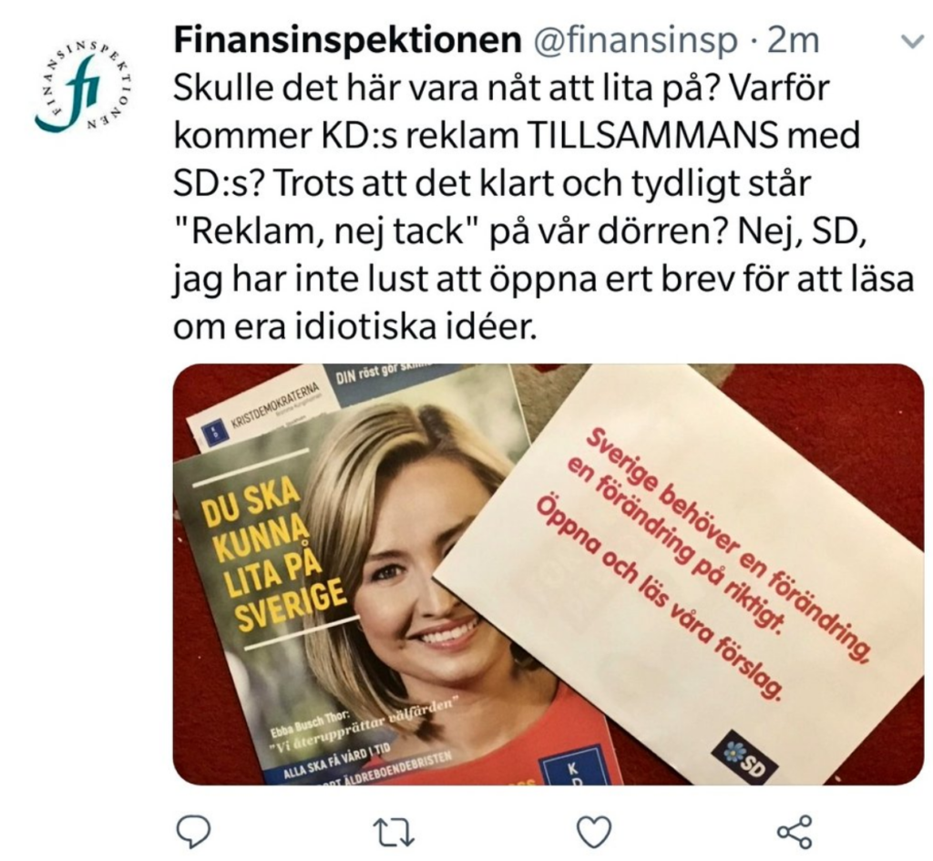 Finansinspektionen – torr myndighet eller lekstuga för aktivister?