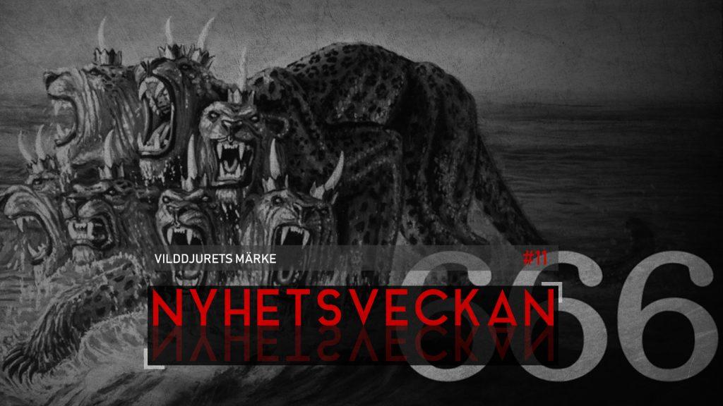 Nyhetsveckan #11 – Vilddjurets märke
