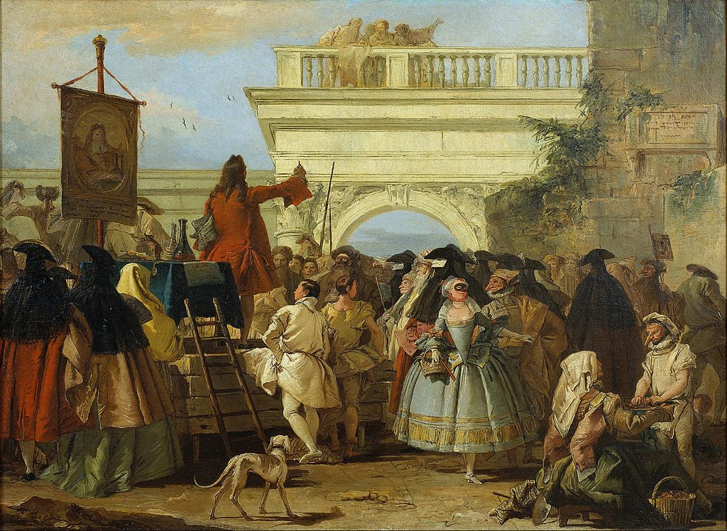 Söndagskrönika: I charlatanernas lyckorike