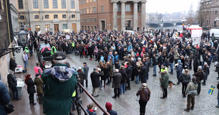 Sprängfyllt med Gula västar-demonstrationer i Sverige!