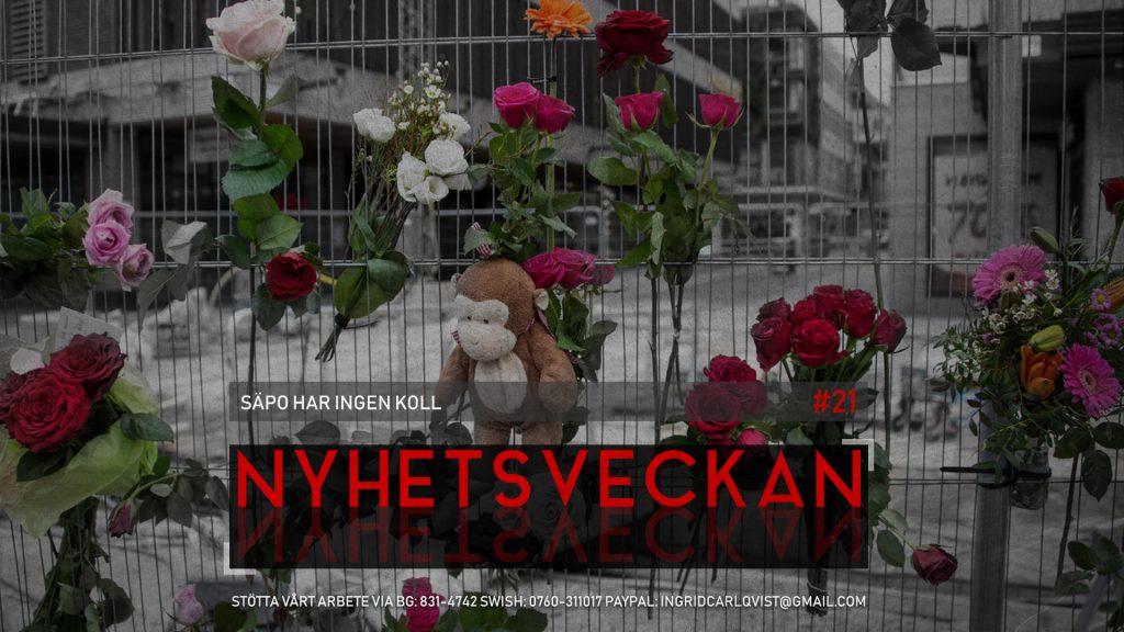 Nyhetsveckan #21 – Säpo har ingen koll, feminister hatar Persbrandt, romsk politikerdotter rånar gamlingar