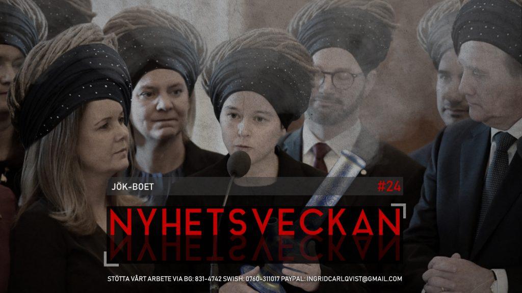 Nyhetsveckan #24 – JÖK-boet: Missbildningar, diktaturförespråkare, galna anklagelser
