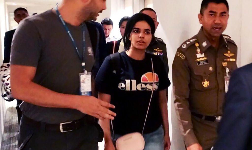 Rahafs frihetskamp engagerar en hel värld