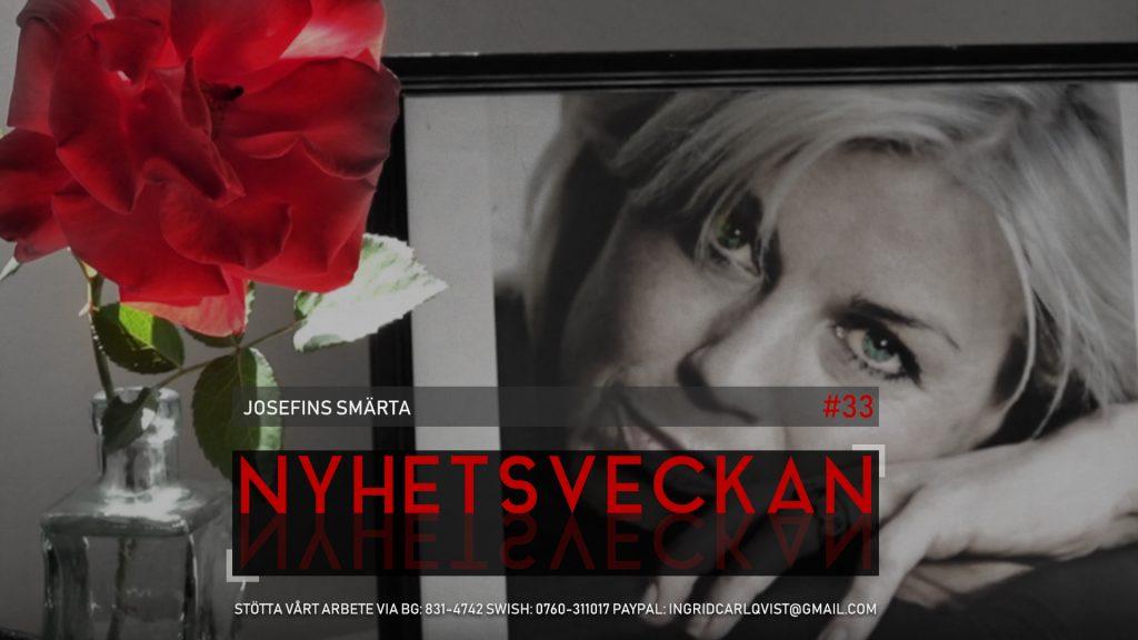 Nyhetsveckan #33 – Josefins smärta, dokumentärtips, lämna Facebook, den evige Soros