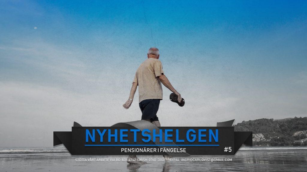 Nyhetshelgen #5 – Pensionärer i fängelse: Anarkotyranni, schampo svensk tradition, ledarskribenter flyr