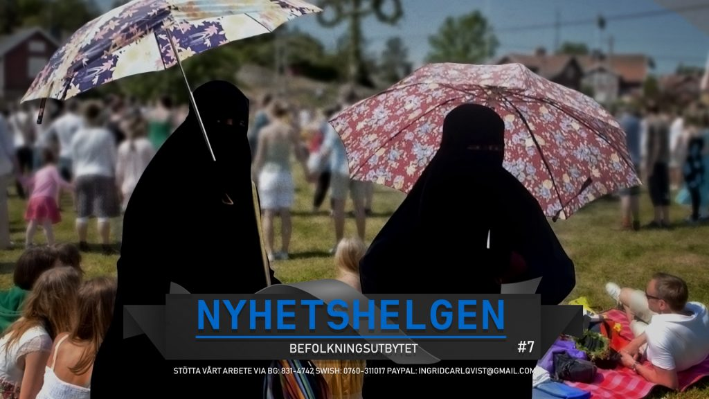 Nyhetshelgen #7 – Befolkningsutbytet, kalabalik i Köpenhamn, kommunkollaps, sossarna hackade