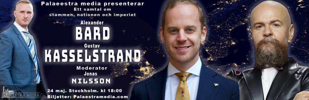 Gustav Kasselstrand möter Alexander Bard i debatt