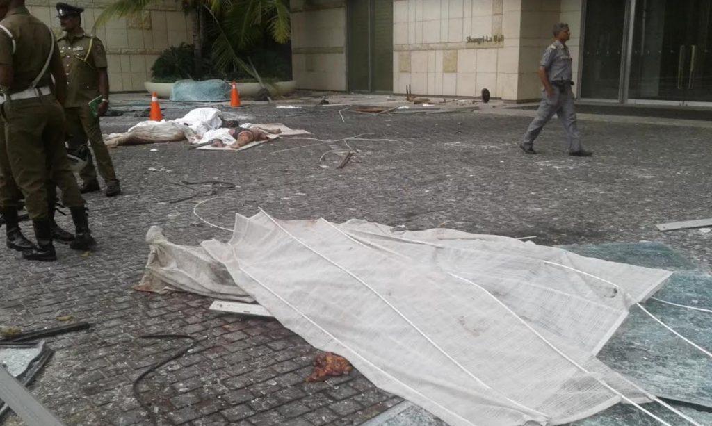 Sri Lanka och den islamiska terrorn – varning för hemska bilder