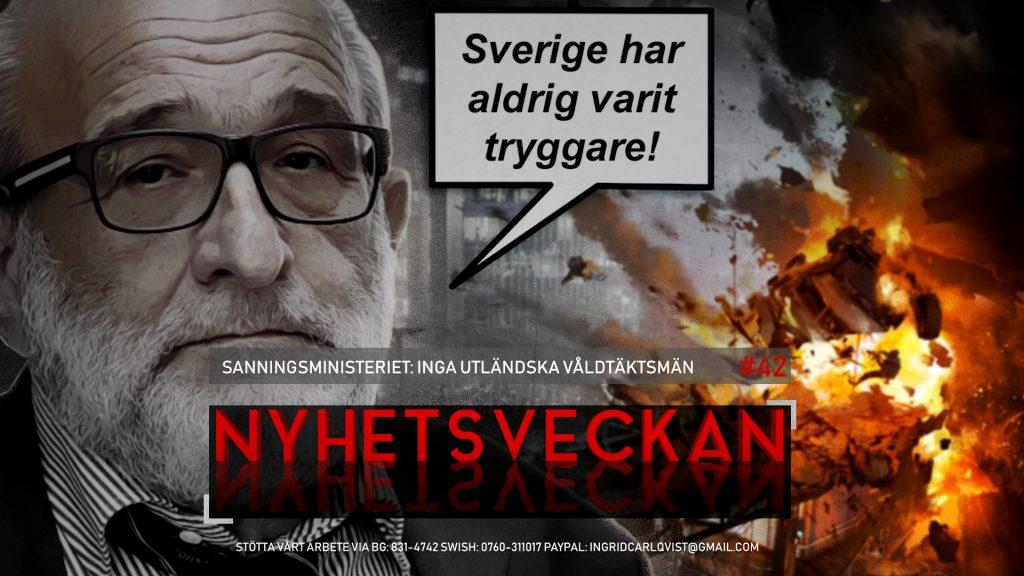 Nyhetsveckan #42 – Sanningsministeriet: Inga utländska våldtäktsmän, KD-ras och Bilderberg