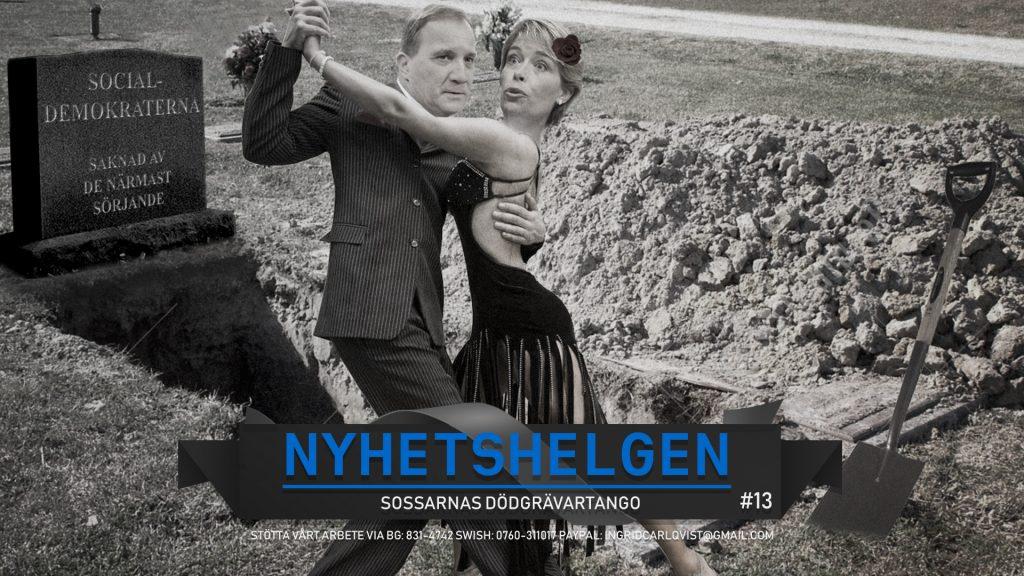 Nyhetshelgen #13 – Sossarnas dödgrävartango, farliga föräldrar och danska valet