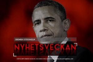 Nyhetsveckan #44 – Obomba i Stockholm, dansk klanröstning, chrislam, soja-ÖB