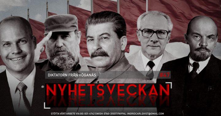 Nyhetsveckan #47 – Diktatorn från Höganäs, bitchkriget, okynnesanmälningar, grovt förtal