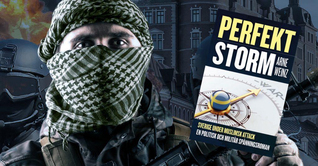 Recension: Andlöst spännande bok om muslimsk invasion av Sverige