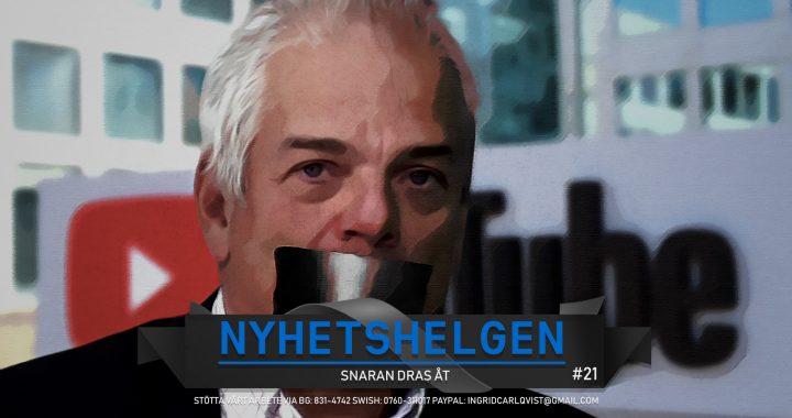 """Nyhetshelgen #21 – Snaran dras åt, regeringen bakom Swebb-tvs nedstängning, """"regnbågspesten"""", bajs"""