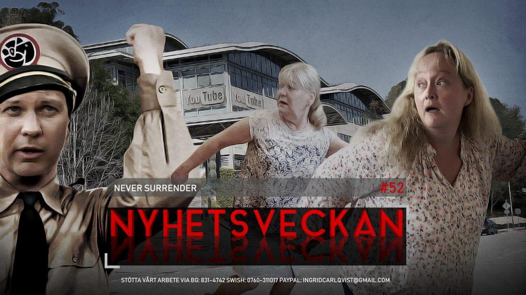 Nyhetsveckan #52 – Never Surrender, sociala mediekriget, djurplågeri