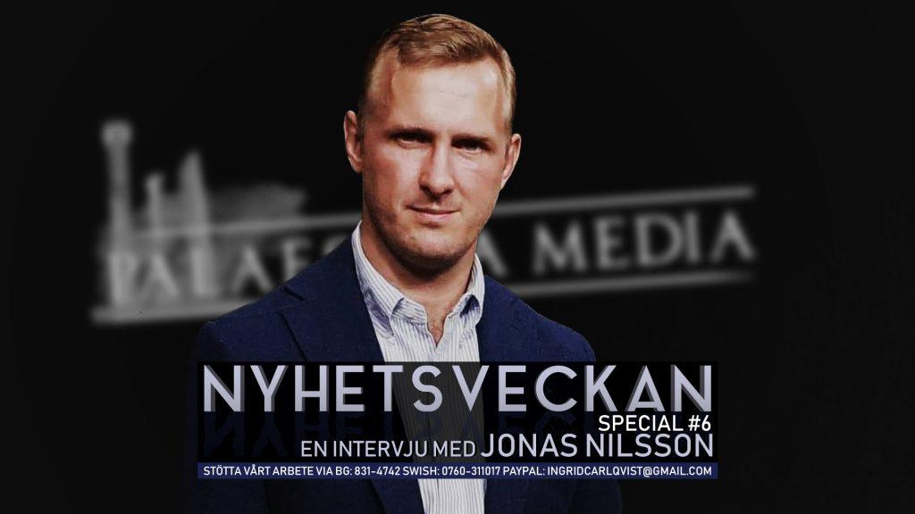Nyhetsveckan Special #6 – En intervju med dokumentärfilmaren Jonas Nilsson