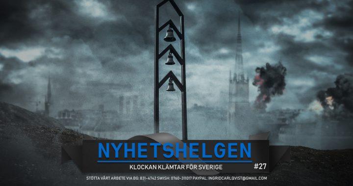 Nyhetshelgen #27 – Klockan klämtar för Sverige, supa på söndag, mer klimathysteri