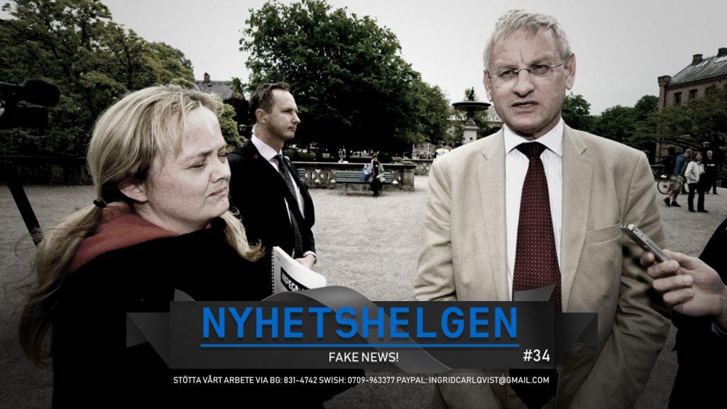 Nyhetshelgen #34 – Fake news!, bluff och båg, explosions-Malmö