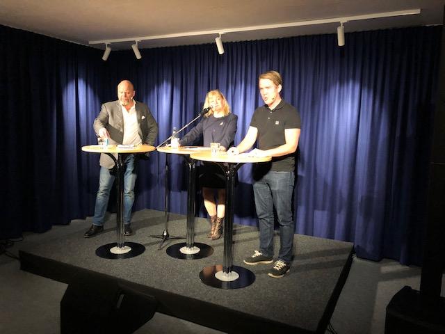 Stockholm: Banbrytande debatt inför jublande publik
