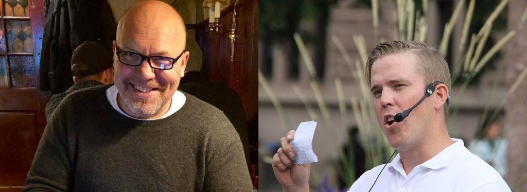 Kommunisten Joe Nilsson möter konservative Jeff Ahl i årets hetaste debatt