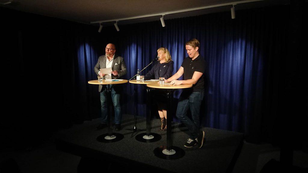 Video: Se debatten mellan kommunisten Joe Nilsson och AFS Jeff Ahl