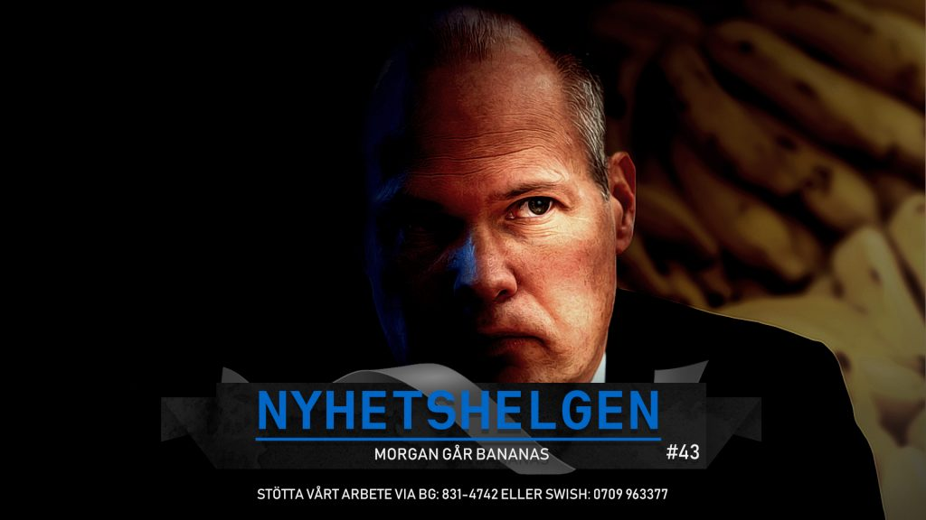 Nyhetshelgen #43 – Morgan går bananas, vi ber för Sverige, Zlatans fall