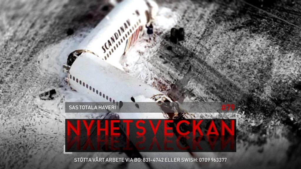 Nyhetsveckan #79 – SAS totala haveri, slösaktiga Malmö, hemlöse Rolf fick SD-hjälp