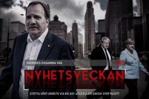Nyhetsveckan #85 – Sveriges ensamma väg, omvärldens förundran, Planen för det goda
