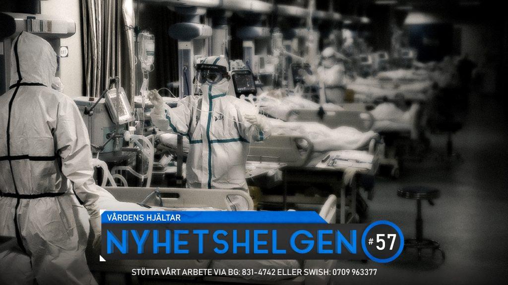 Nyhetshelgen #57 – Vårdens hjältar, Sverige hjärta Löfven och Tengele, Gula faran