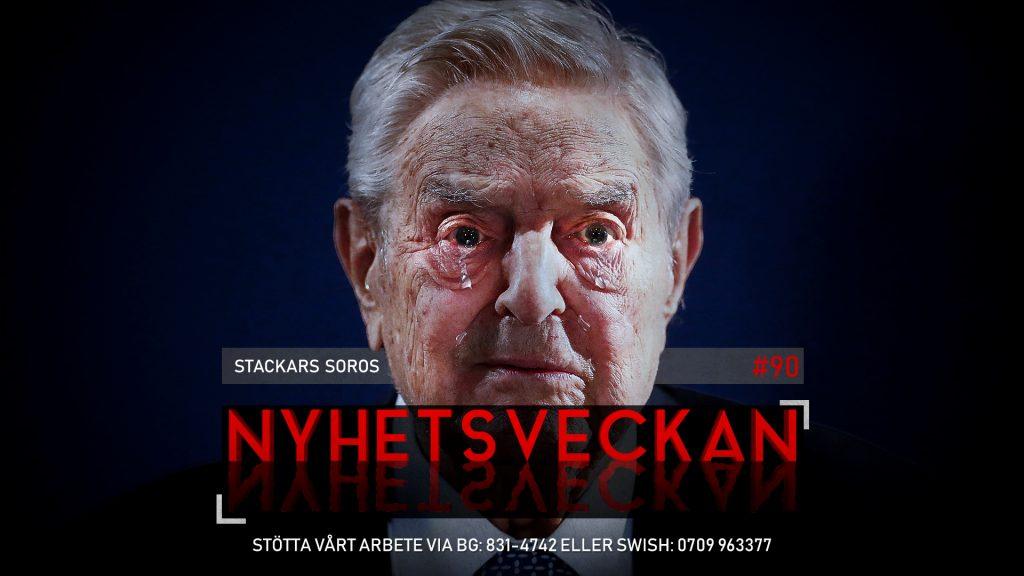 Nyhetsveckan #90 – Stackars Soros, mässling skyddar mot cancer, uppror på SVT