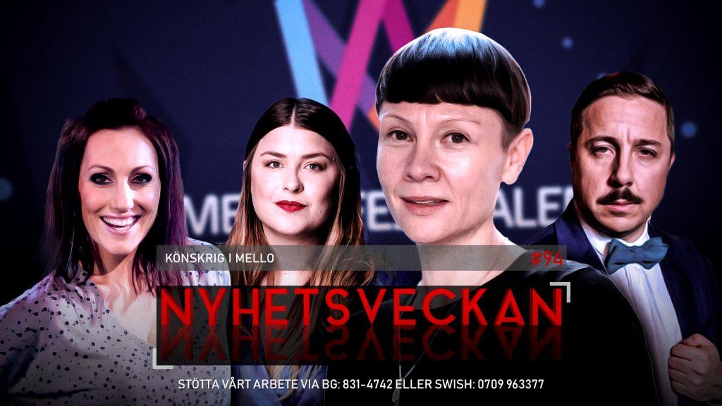 Nyhetsveckan #94 – Könskrig i Mello, Svensson vaknar, Trump klämmer åt sociala medier