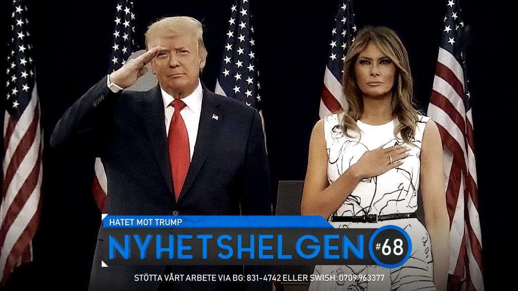 Nyhetshelgen #68 – Hatet mot Trump, SD sätter ner foten, galna FN