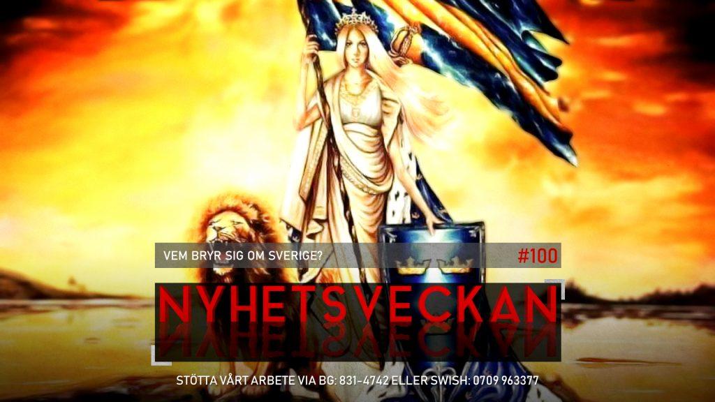 Nyhetsveckan #100 – Vem bryr sig om Sverige?, stjärnfallet i Hollywood, regimtrogna SVT
