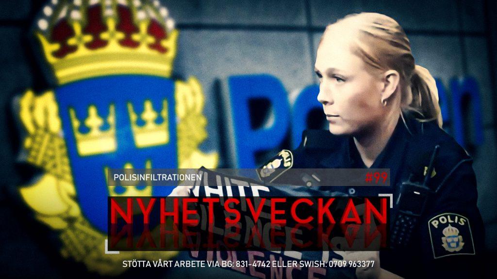 Nyhetsveckan #99 – Polisinfiltrationen, Mogge hjärta Annika, Ghislaine Maxwell gripen