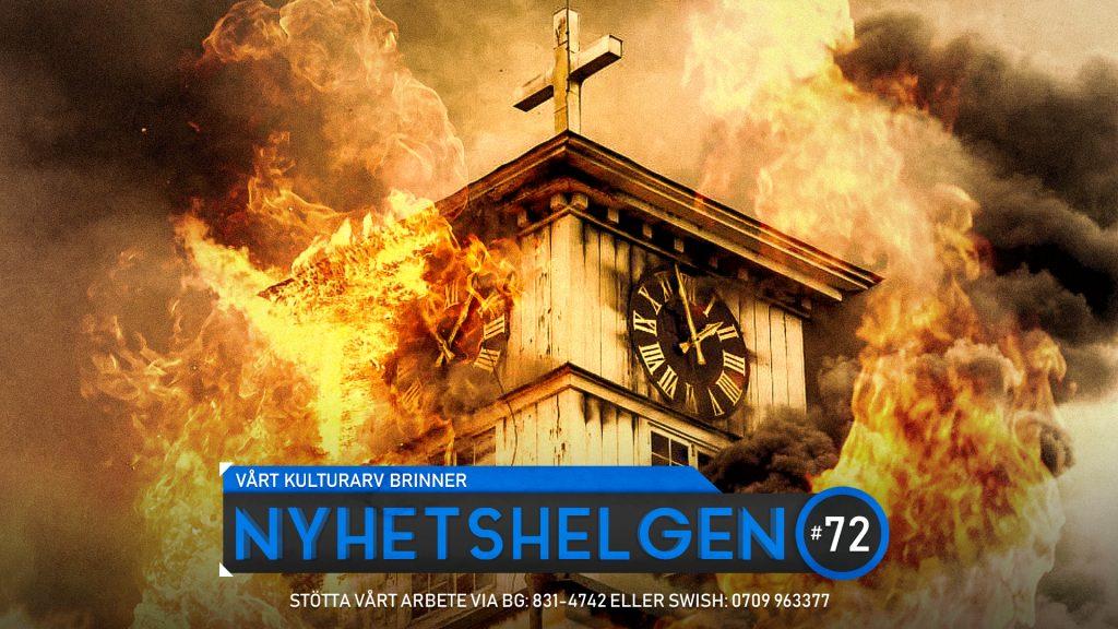 Nyhetshelgen #72 – Vårt kulturarv brinner, Ingrids skräckresa, journalistikens förfall