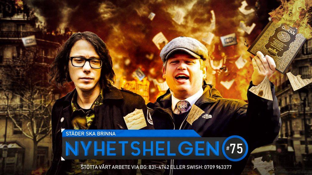 Nyhetshelgen #75 – Städer ska brinna, vilddjurets märke, svenskarnas påsbojkott