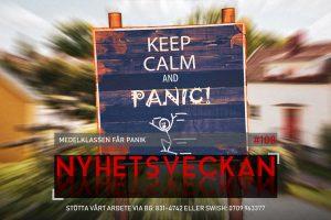 Nyhetsveckan #108 – Medelklassen får panik, polisen är desperat, Löfven skyller på svenska folket