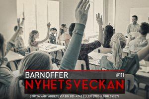 Nyhetsveckan #111 – Barnoffer, polisen förfaller, journalistiken förfaller