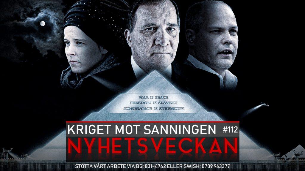Nyhetsveckan #112 – Kriget mot sanningen, Trump-kaos, svensk rättsröta