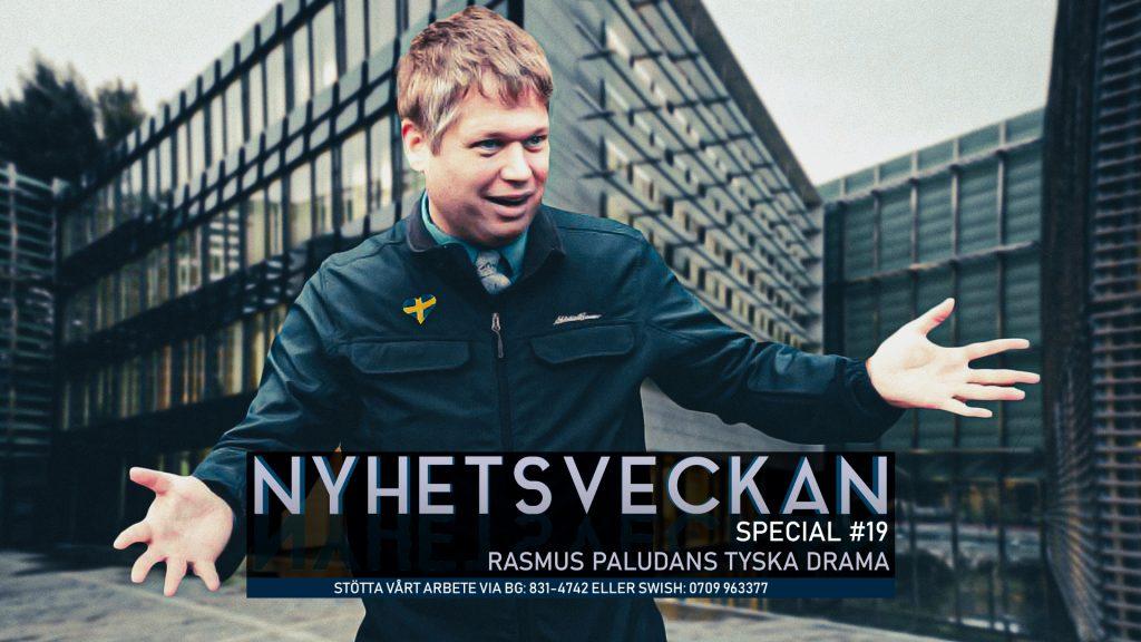Nyhetsveckan Special #19 – Rasmus Paludans tyska drama, medlemskapet i AFS
