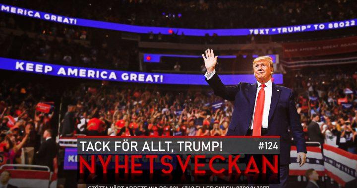 Nyhetsveckan #124 – Tack för allt, Trump!, pandemilagen, hej då Eliasson