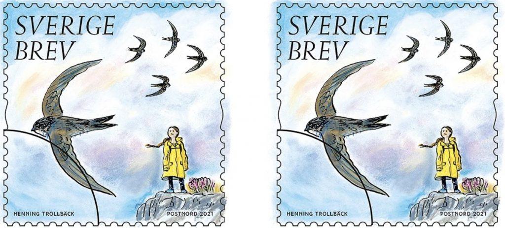 God ton med Gudmundur – del 102: Greta Thunberg på frimärken är provocerande