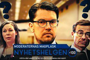 Nyhetshelgen #100 – Moderaternas magplask, kärnkraftskärlek, krav på tredje kön