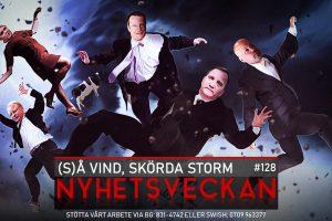Nyhetsveckan #128 – Så vind, skörda storm, sanningen om HCQ, politikens lögnerskor