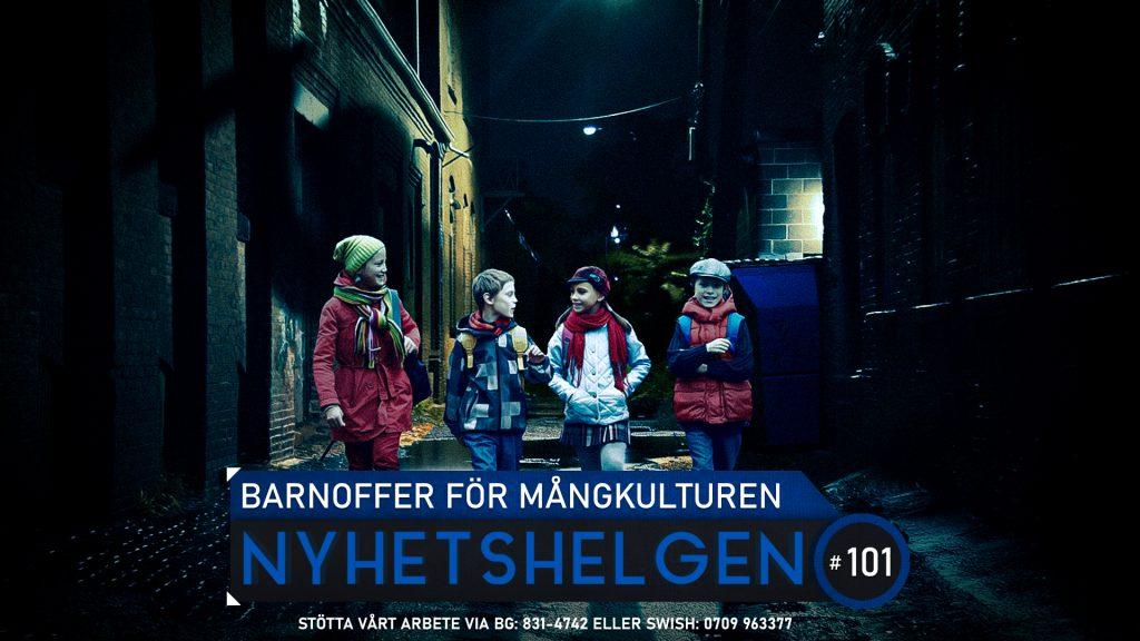 Nyhetshelgen #101 – Barnoffer för mångkulturen, Åkesson fortsatt tuff, Trump talar