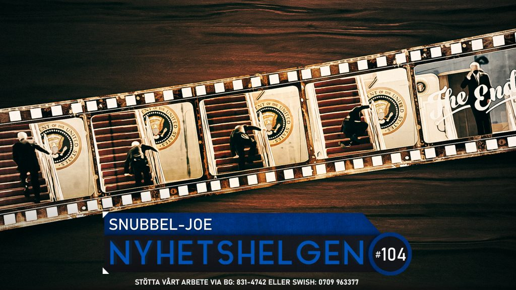 Nyhetshelgen #104 – Snubbel-Joe, barocka polisinsatser, Federleys fiasko