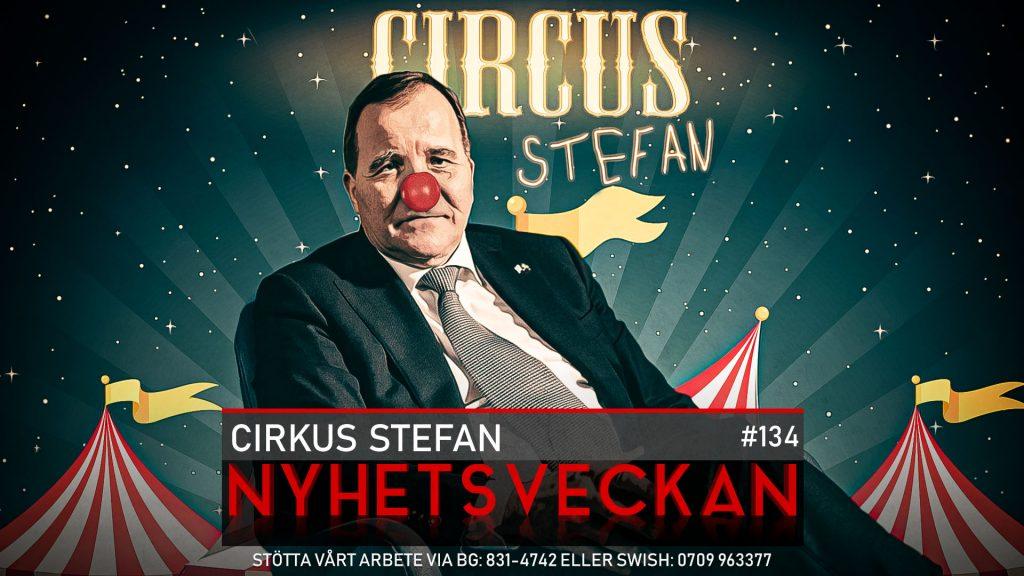 Nyhetsveckan #134 – Cirkus Stefan, Federley-snyft, kaninkokerskor