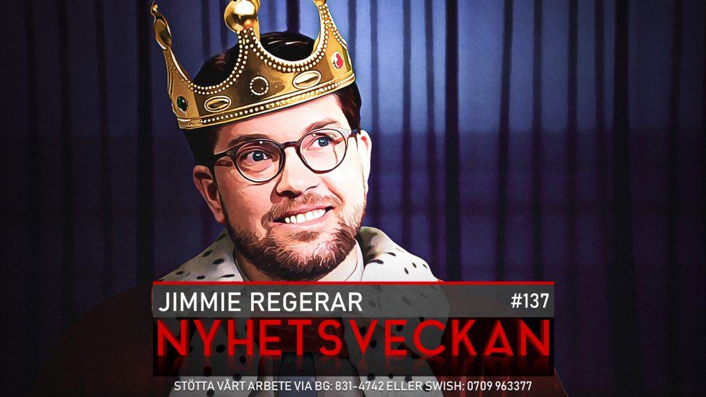 Nyhetsveckan #137 – Jimmie regerar, klimatknas, rädda hjärnan