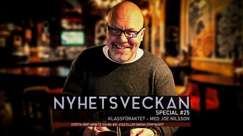 Nyhetsveckan Special #25 – Klassföraktet med Joe Nilsson